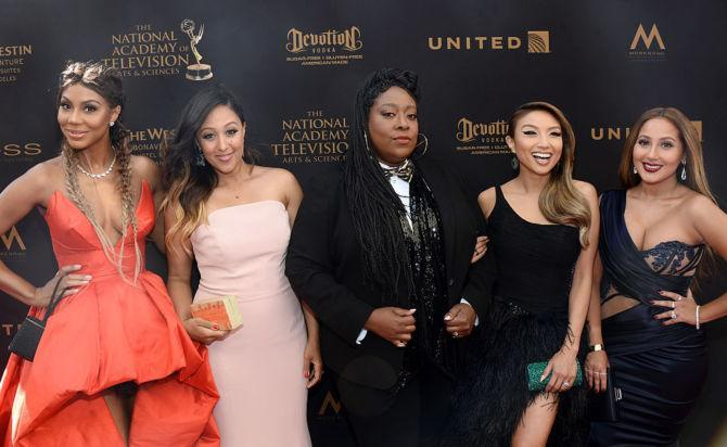 The Real - Tamar Braxton, Tamera Mowry Housley, Loni Love, Jeannie Mai & Adrienne Bailon