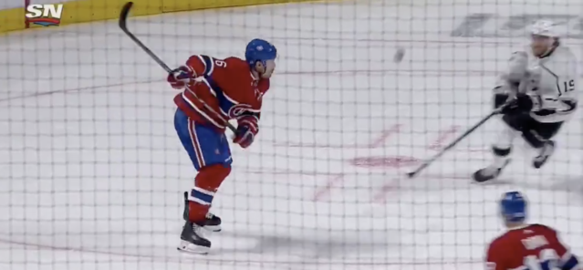 Shea Weber is on another level with this one-timer. (Sportsnet)