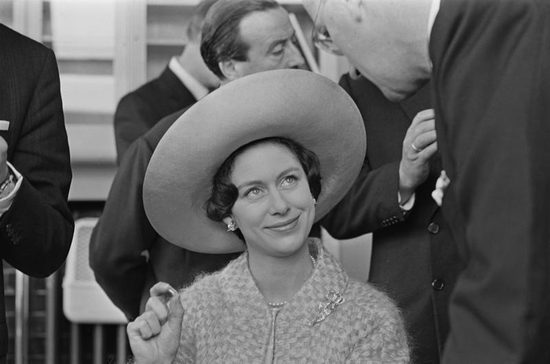 Princess Margaret, Countess of Snowdon (1930 - 2002), visits the Royal Asscher Diamond Company in Amsterdam, Netherlands, 19th May 1965. (Photo by Les Lee/Daily Express/Hulton Archive/Getty Images)
