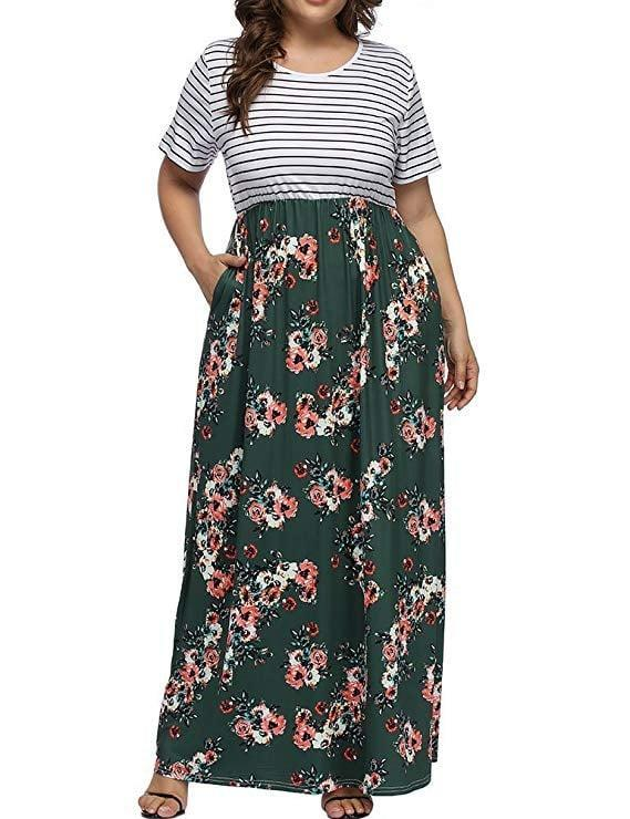 "<p>This bestselling <a href=""https://www.popsugar.com/buy/Allegrace-Floral-Print-Striped-Maxi-Dress-543802?p_name=Allegrace%20Floral%20Print%20Striped%20Maxi%20Dress&retailer=amazon.com&pid=543802&price=27&evar1=fab%3Aus&evar9=47491166&evar98=https%3A%2F%2Fwww.popsugar.com%2Ffashion%2Fphoto-gallery%2F47491166%2Fimage%2F47491178%2FAllegrace-Floral-Print-Striped-Maxi-Dress&list1=amazon%2Cdresses%2Csummer%20fashion%2Cfashion%20shopping&prop13=mobile&pdata=1"" class=""link rapid-noclick-resp"" rel=""nofollow noopener"" target=""_blank"" data-ylk=""slk:Allegrace Floral Print Striped Maxi Dress"">Allegrace Floral Print Striped Maxi Dress </a> ($27) has tons of awesome reviews.</p>"