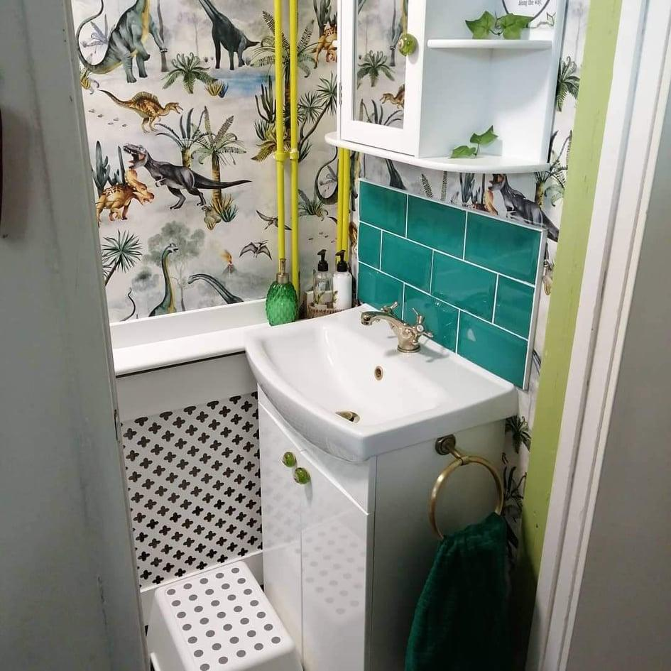 The finished bathroom was a hit with the family. (Supplied Latestdeals.co.uk)