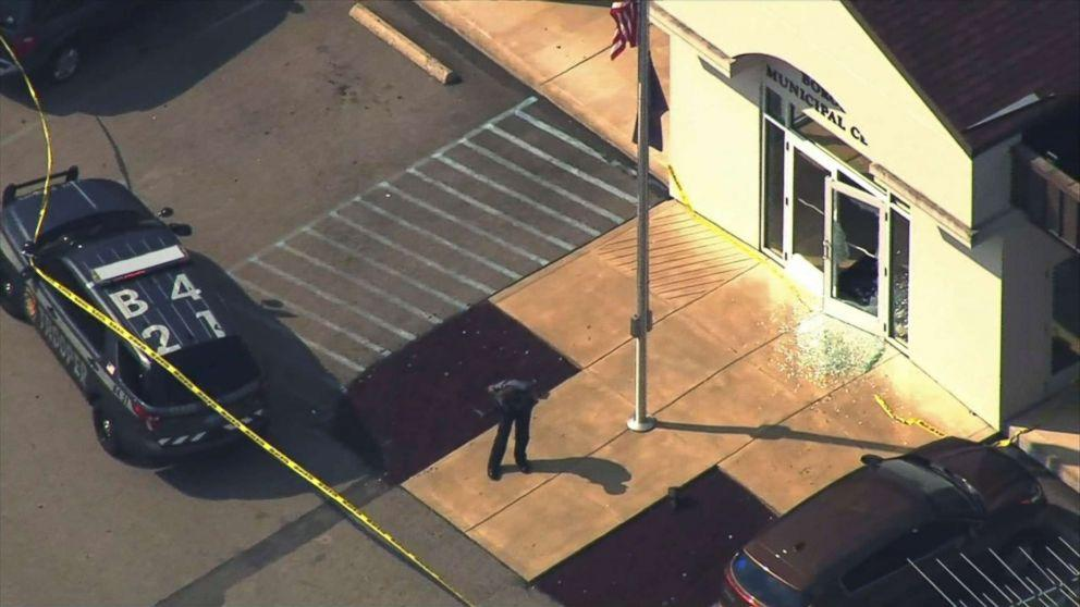 Gunman in courthouse shooting that injured 4 was scheduled for assault hearing, authorities say (ABC News)