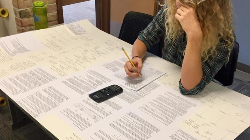 Forget Cheat 'Sheet' — Student Outwits Professor With Enormous 'Cheat Poster'