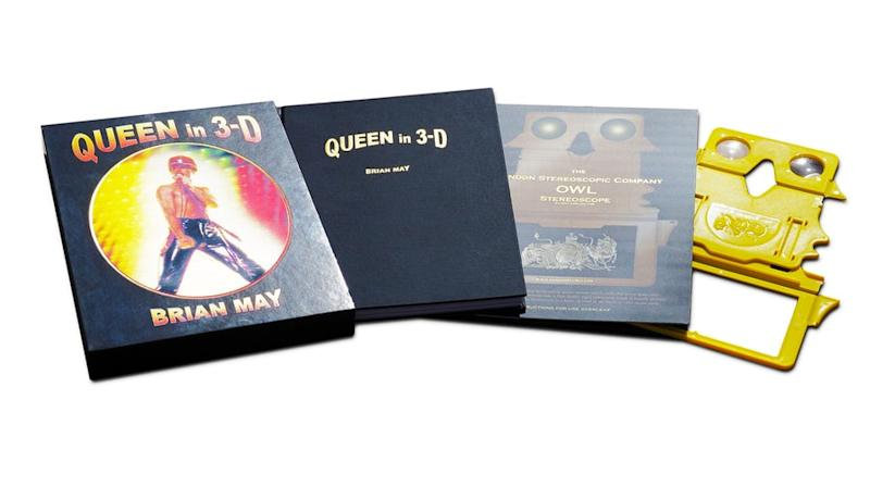 Brian May Unveils Queen History in Expansive 3-D Photo Book