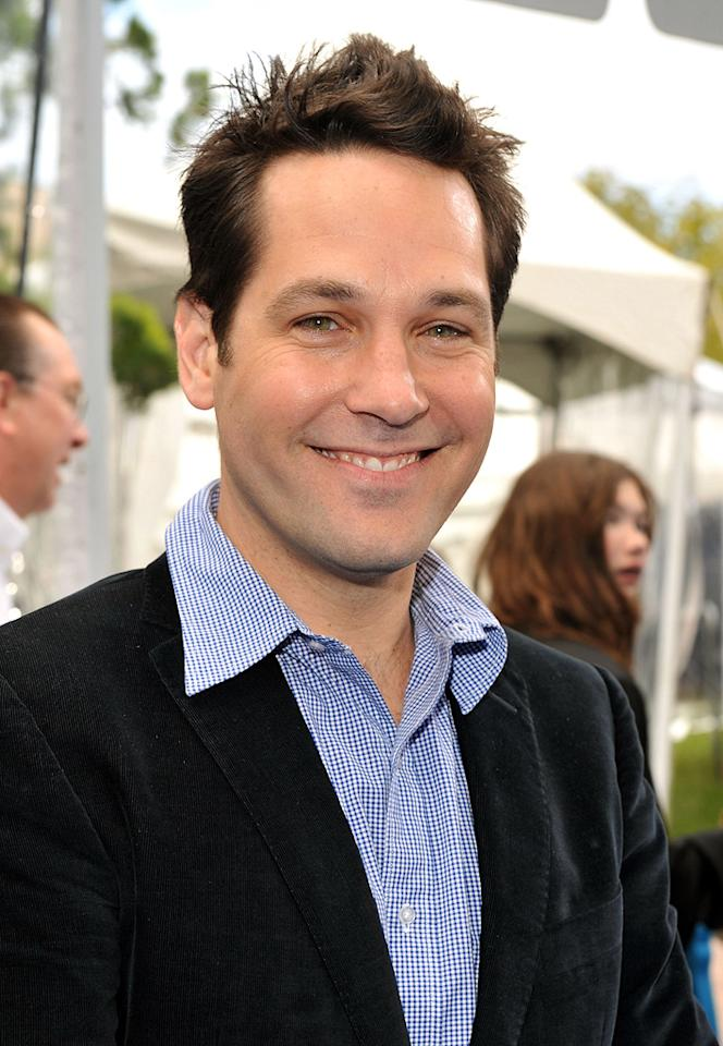 """<a href=""""http://movies.yahoo.com/movie/contributor/1800018571"""">Paul Rudd</a> at the Los Angeles premiere of <a href=""""http://movies.yahoo.com/movie/1809918074/info"""">Monsters vs. Aliens</a> - 03/22/2009"""
