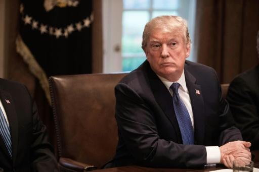 <p>President Donald Trump gathered senior military leaders at the White House on April 9 to weigh the US response to a suspected chemical attack in Syria. </p>