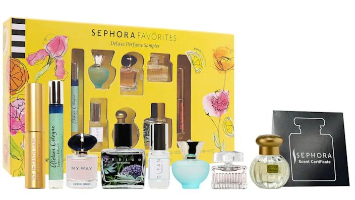 Looking for your signature scent? Try one of these amazing samplers.