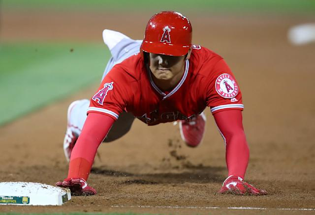 Yes, Shohei Ohtani can do it all. (AP)