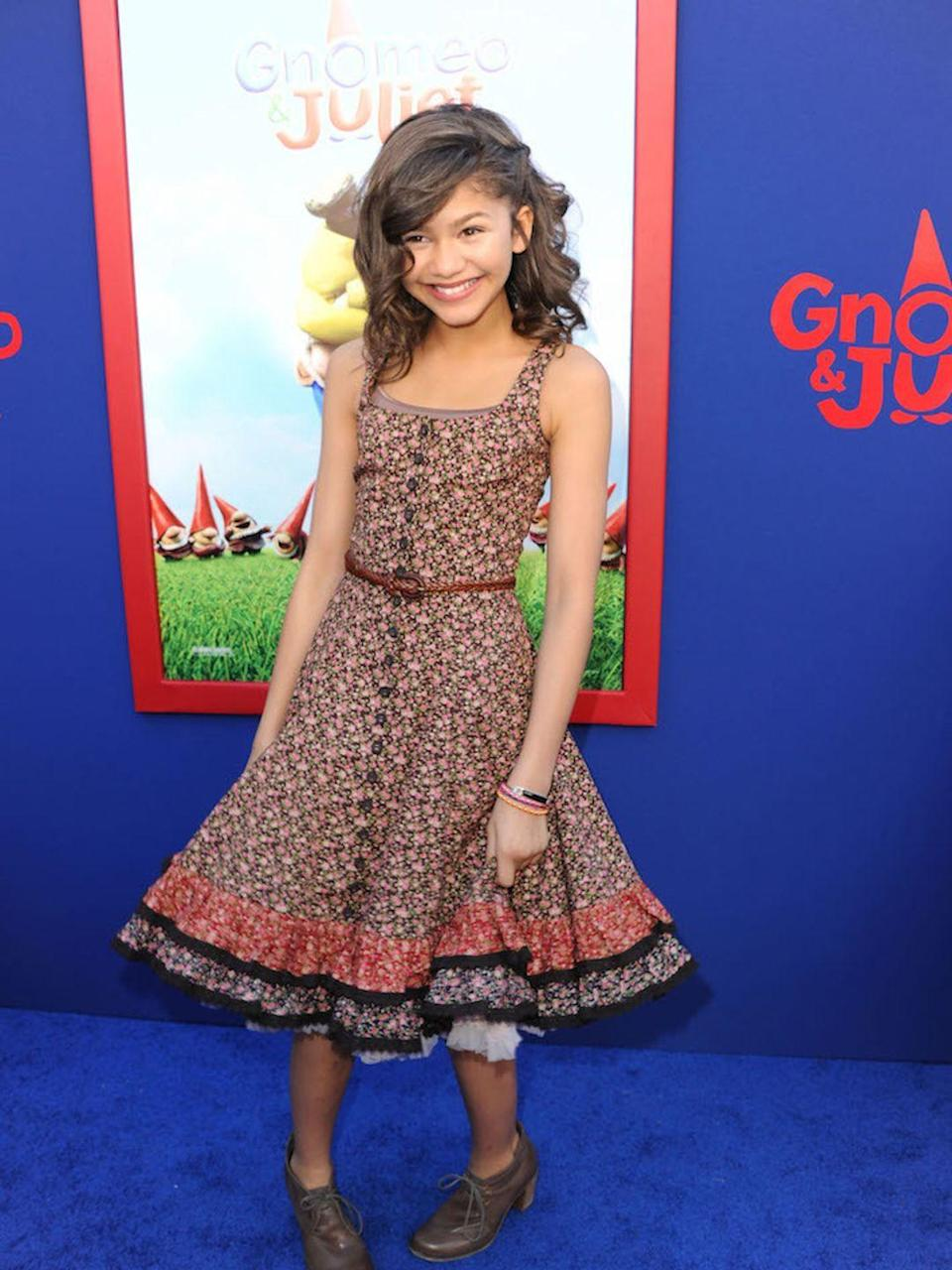 <p>At the premiere of Gnomeo and Juliet, in California January 2011</p>