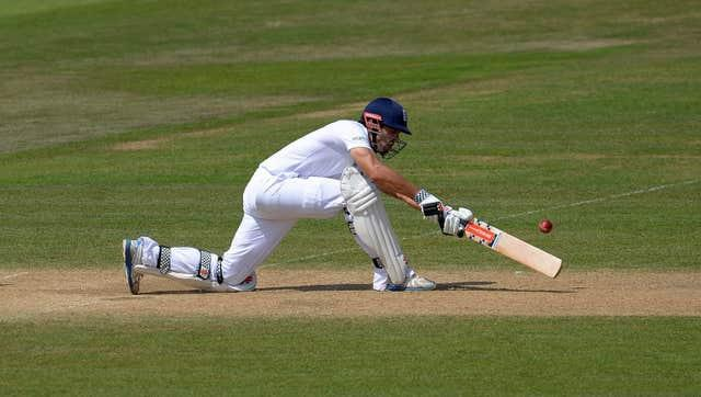 Alastair Cook led England to success in India