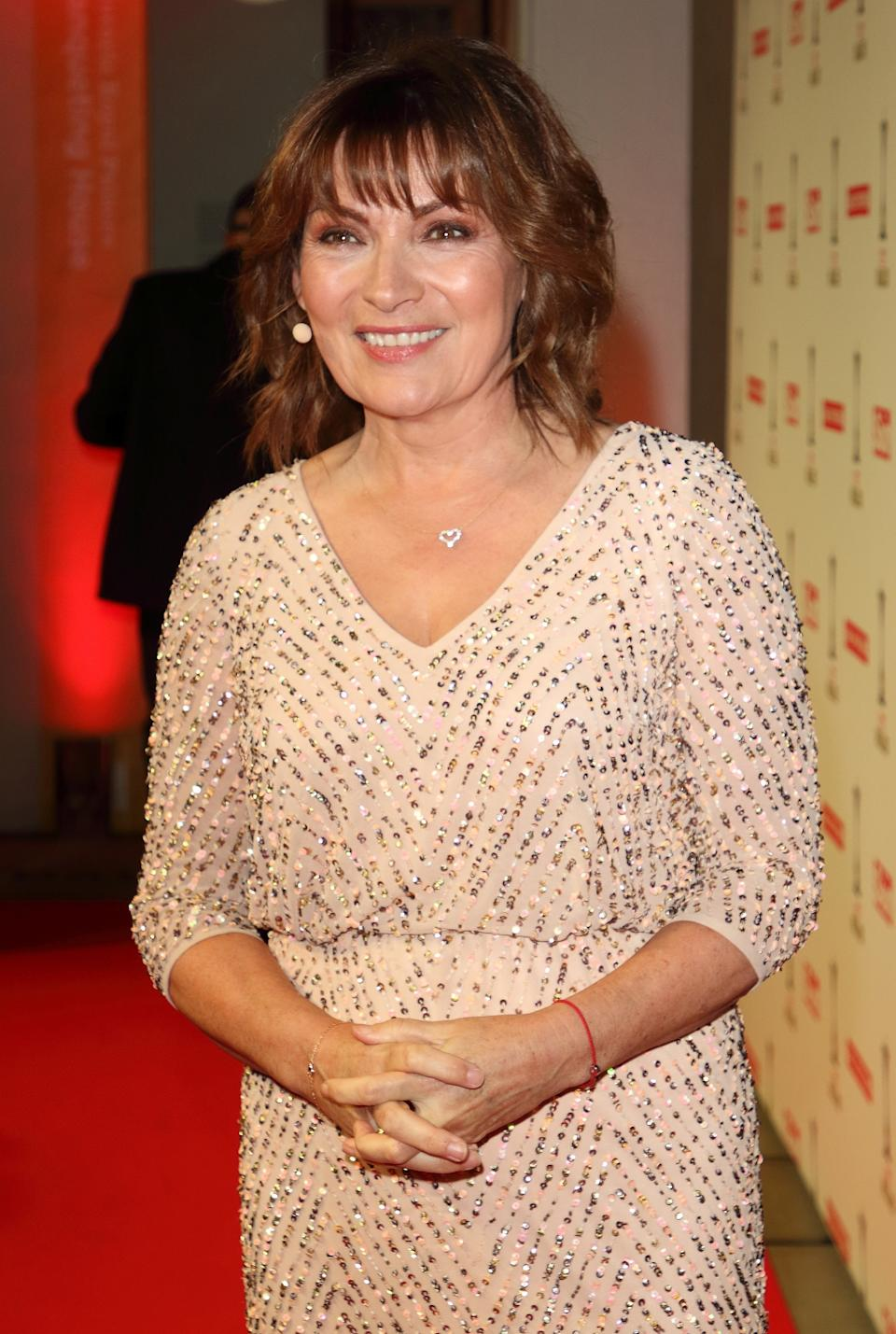 Lorraine Kelly attends The Sun Military Awards 2020 at the Banqueting House in London. (Photo by Keith Mayhew / SOPA Images/Sipa USA)
