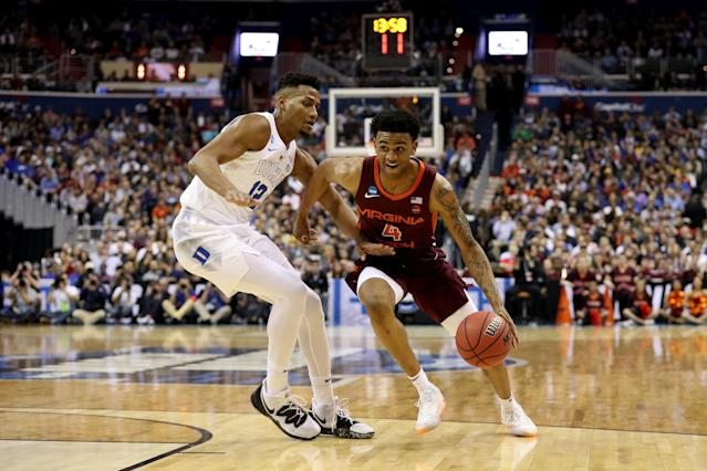 <p>The East Regional game of the 2019 NCAA Men's Basketball Tournament at Capital One Arena on March 29, 2019 in Washington, DC. (Photo by Patrick Smith/Getty Images) </p>