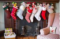 "<p>If you're spending your holiday at home, you should make it as cozy as possible. They say ""Deck the halls"" for a reason, and having gorgeous decorations throughout your house will put you in the mood for celebrating, no doubt.</p><p><a class=""link rapid-noclick-resp"" href=""https://www.amazon.com/Sunshane-Christmas-Stockings-Fireplace-Decoration/dp/B07J2B5H2C/?tag=syn-yahoo-20&ascsubtag=%5Bartid%7C10063.g.34864266%5Bsrc%7Cyahoo-us"" rel=""nofollow noopener"" target=""_blank"" data-ylk=""slk:SHOP DECORATIONS"">SHOP DECORATIONS</a></p>"