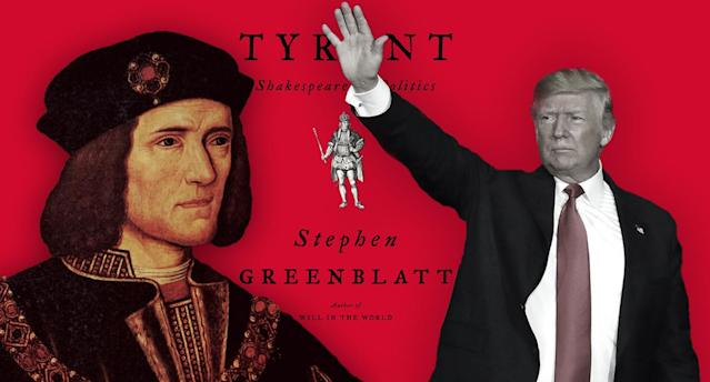 Richard III, Donald Trump. (Photo illustration: Yahoo News; photos: Universal History Archive/UIG via Getty Images, Kelli Grant, Paul Sancya/AP)