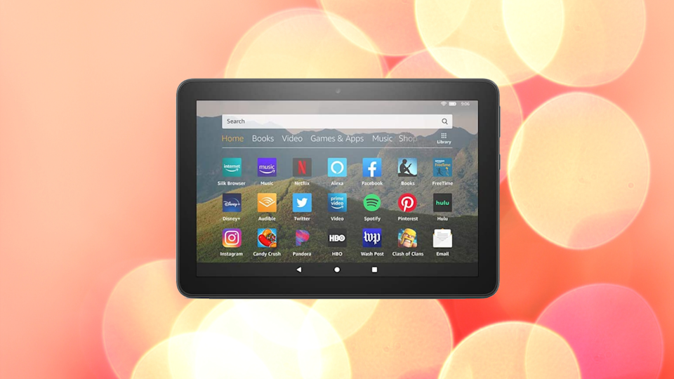 Save nearly 30 percent on the Fire HD 8. (Photo: Amazon)