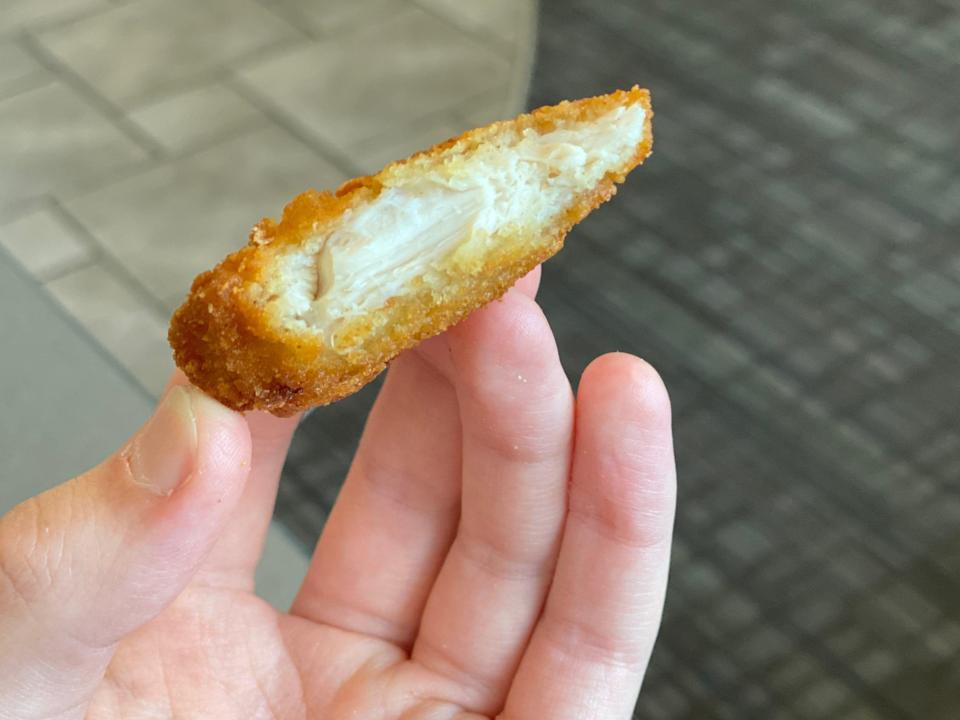 The chicken tender at Culver's