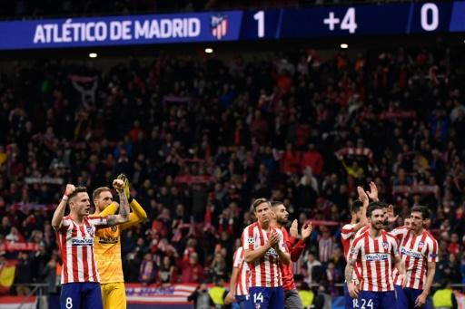 After losing, Liverpool complained that Atletico Madrid celebrated too much