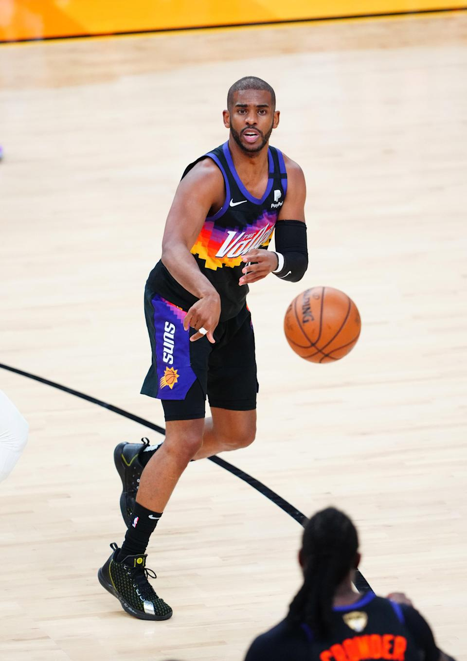 Chris Paul has played 16 NBA seasons, including one for a Phoenix Suns team that reached the Finals.