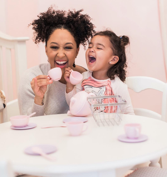 Tamera Mowry-Housley prayed for her daughter to look like her. (Photo: Instagram/tameramowrytwo)