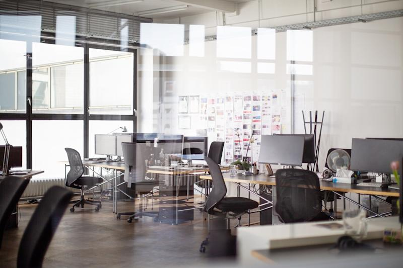 Pictured: Empty office due to covid-19 restrictions. Image: Getty
