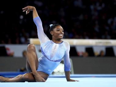 World Artistic Gymnastic Championships 2019: Simone Biles makes history on opening appearance to get moves named after her