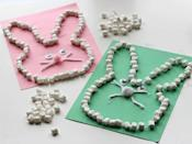 """<p>These bunnies made out of mini marshmallows are easy fun for the whole family (and it's okay if some marshmallows go missing along the way!).</p><p><strong>Get the tutorial at </strong><a href=""""http://www.notimeforflashcards.com/2014/03/marshmallow-easter-bunny-craft.html"""" rel=""""nofollow noopener"""" target=""""_blank"""" data-ylk=""""slk:No Time For Flashcards."""" class=""""link rapid-noclick-resp""""><strong>No Time For Flashcards.</strong></a></p>"""