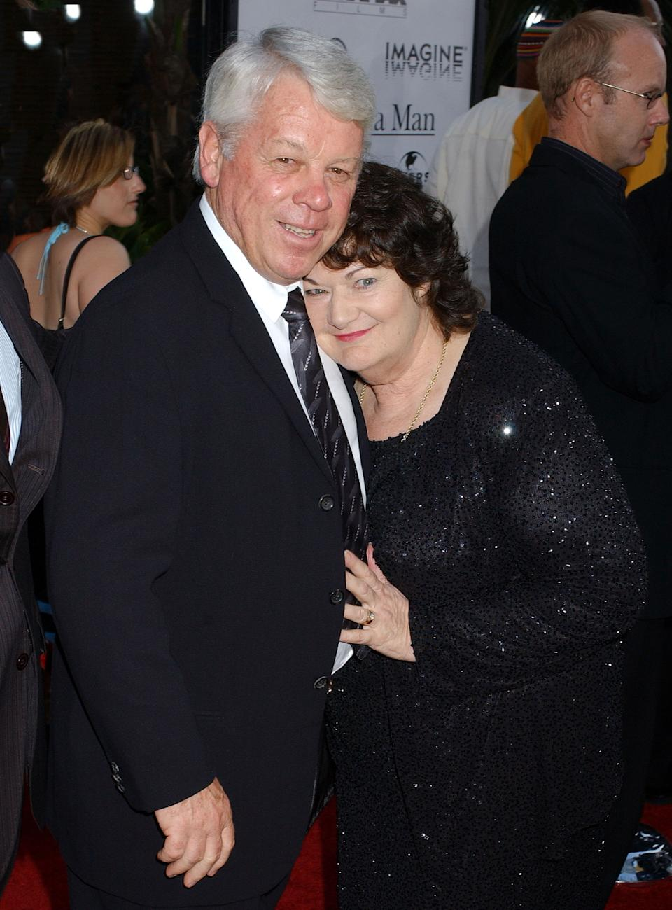 Russell Crowe's dad and mom during