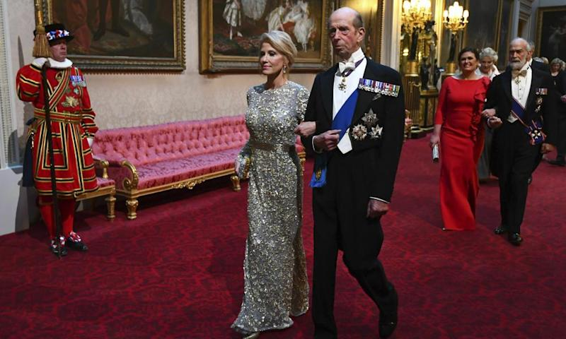 Kellyanne Conway with the Duke of Kent