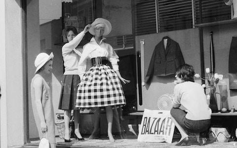 Bazaar opened in November 1955 and was an immediate success - Credit: GETTY
