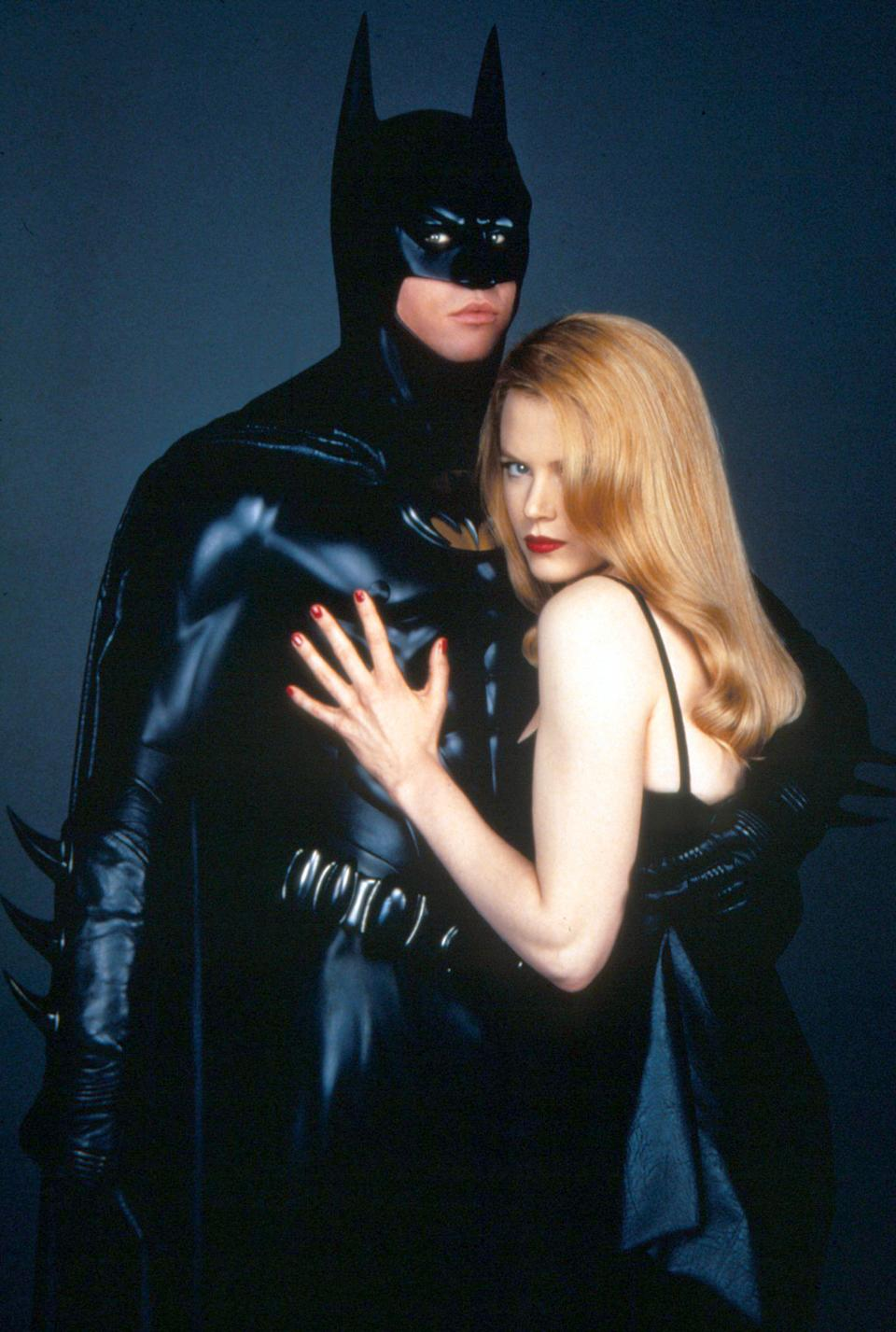 Val Kilmer and Nicole Kidman (Photo by Warner Bros. Pictures/Sunset Boulevard/Corbis via Getty Images)