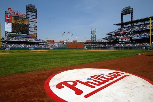 A fan who helped inform Phillies manager Gabe Kapler that Bryce Harper was signing with the team, died in the March 10 Ethiopian Airline crash. (Photo by Jamie Squire/Getty Images)