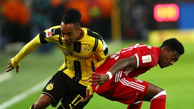 Free-scoring strikers Pierre-Emerick Aubameyang and Robert Lewandowski will go head-to-head when Bayern and Dortmund meet in Der Klassiker.