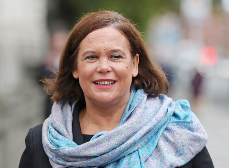 <p>Mary Lou McDonald spoke at an event dedicated to the first female MP, who was elected to the UK House of Commons in 1918.</p>