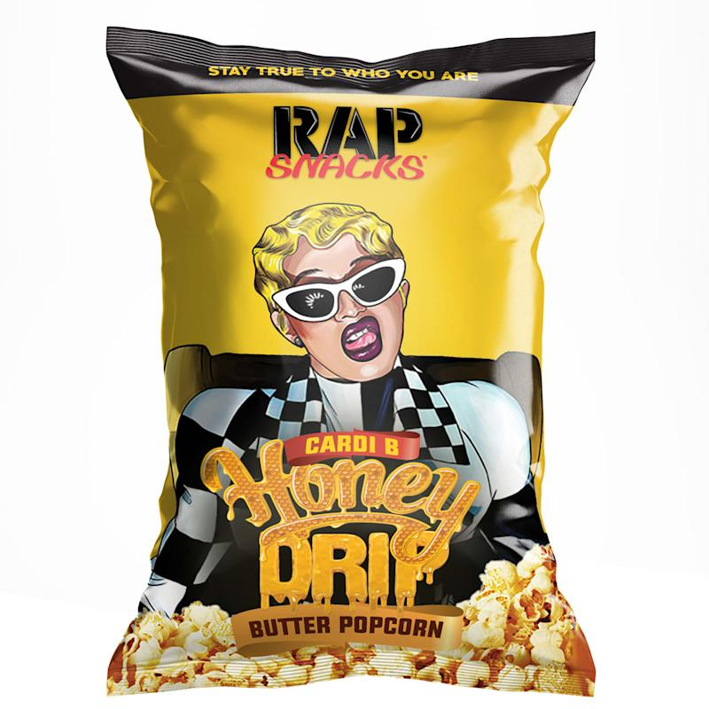 Cardi B Rap: Exclusive: Rap Snacks Unveils New Flavors For Cardi B And