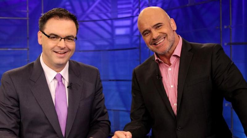 Mauro Ranallo and Bas Rutten