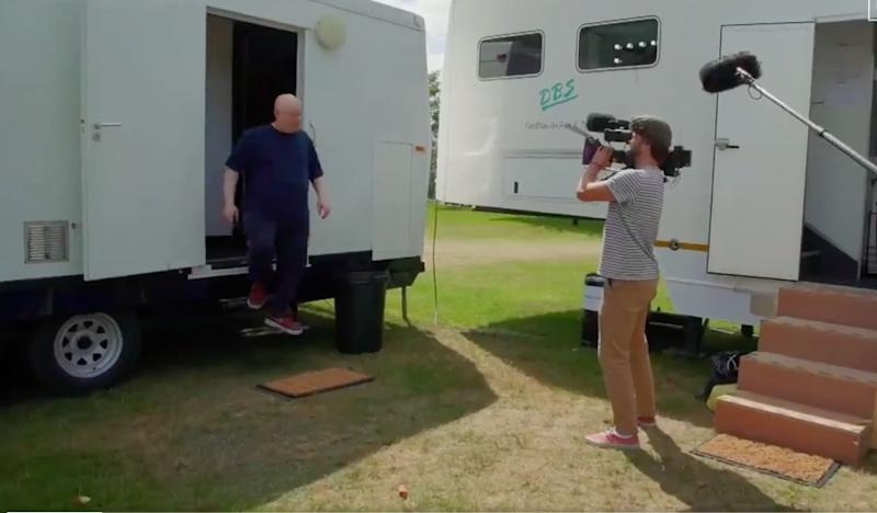 Matt Lucas took fans on a tour behind the scenes of Bake Off (Photo: Channel 4)