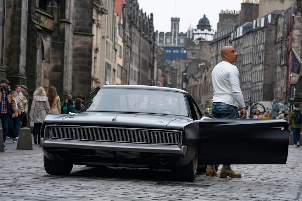 fast 9 dodge charger 1 million dominic toretto