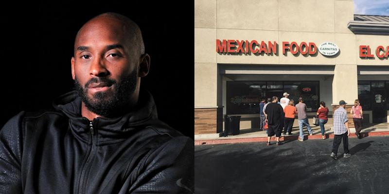 Fans Are Flocking To One Of Kobe Bryant's Favorite Restaurants In The Wake Of His Passing