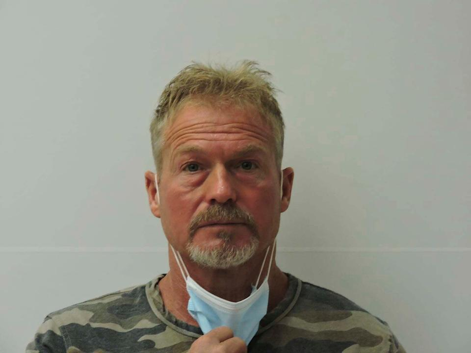 <p>Barry Morphew has been charged with fraudulently casting his wife's ballot for president. Separately, he is also accused of murdering her</p> (Chaffee County Sheriff's Office)
