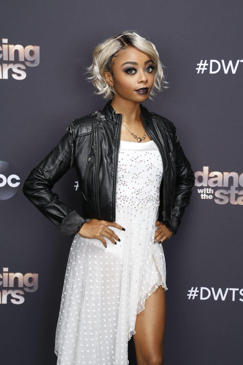<p>As the Bride of Chucky on <em>Dancing With the Stars</em>. It was the show's Halloween villains night.</p>