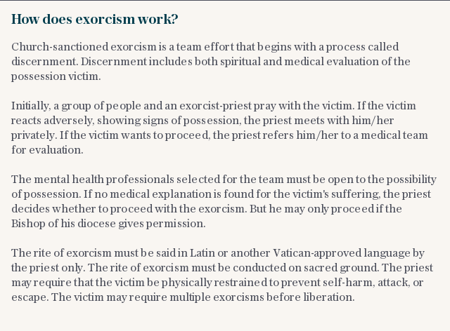 How does exorcism work?