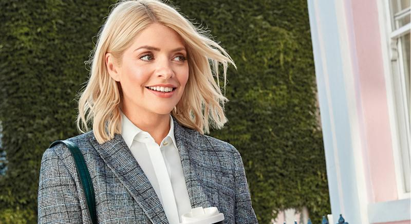 Holly Willoughby shares her favourite items in M&S autumn collection. (Marks and Spencer)
