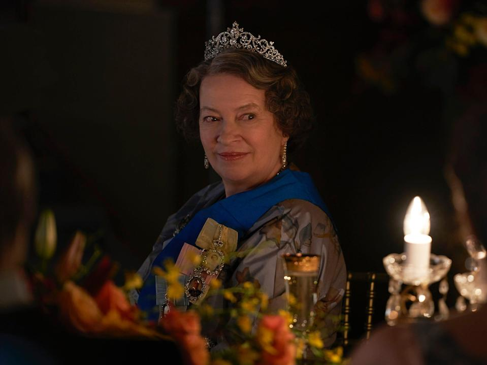 queen mother the crown season three