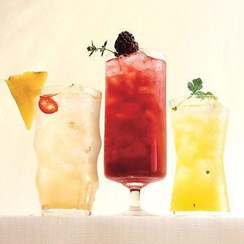 "If desired, garnish this spicy margarita recipe with a wedge of grilled pineapple and a chile slice. Still looking for more options? We've got a fizzy <a href=""https://www.epicurious.com/recipes/food/views/blackberry-thyme-margarita-238768?mbid=synd_yahoo_rss"" rel=""nofollow noopener"" target=""_blank"" data-ylk=""slk:blackberry-thyme variation"" class=""link rapid-noclick-resp"">blackberry-thyme variation</a> as well. <a href=""https://www.epicurious.com/recipes/food/views/pineapple-chile-margarita-238770?mbid=synd_yahoo_rss"" rel=""nofollow noopener"" target=""_blank"" data-ylk=""slk:See recipe."" class=""link rapid-noclick-resp"">See recipe.</a>"