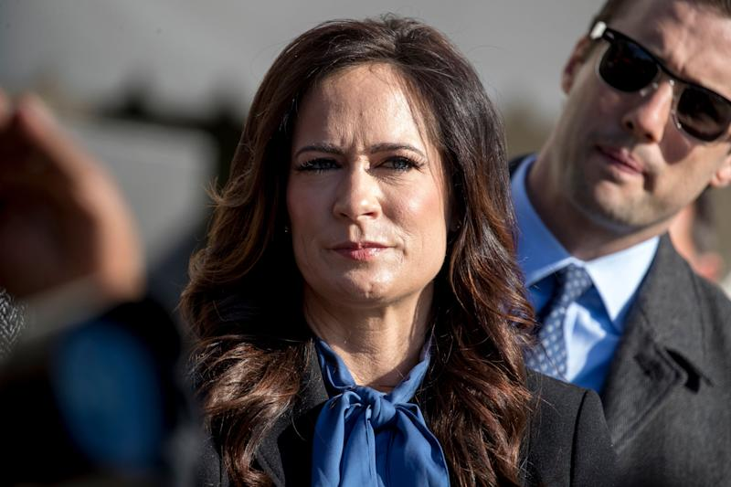 Departing White House press secretary Stephanie Grisham has served in the role since June 2019. (Photo: ASSOCIATED PRESS)