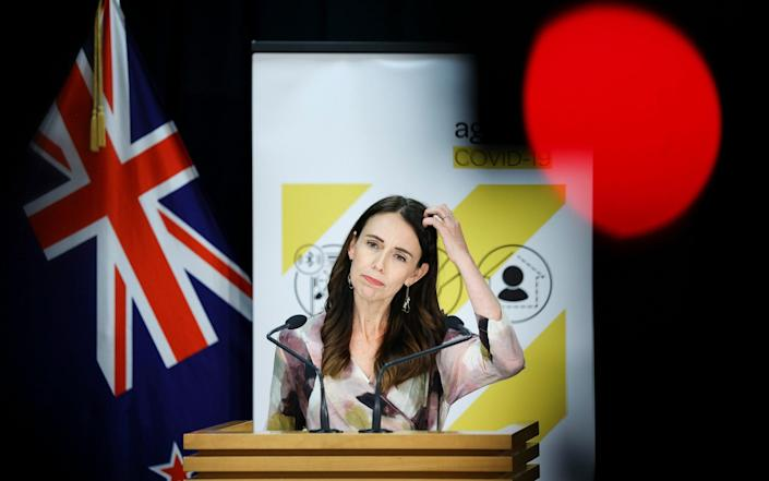 Jacinda Ardern is urging people to be honest and do the right thing to avoid infecting others - Hagen Hopkins/Getty Images