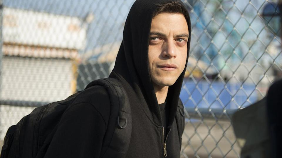 <p> Mr. Robot came out of nowhere to become 2015&apos;s big watercooler hit. It&apos;s about hackers, yes, but the technology wunderkind at the heart of this story is unlike any other onscreen depictions. Rami Malek plays Elliott Anderson, a computer genius who joins the ranks of the mysterious Mr. Robot under the pretense that their band of digital vigilantes will free society from the grip of corporate America. </p> <p> Paranoid and tense, Robot rolls out like a thriller cooked up in the mind of David Fincher then siphoned through the bizarre lens of David Lynch. Its creator Sam Esmail showcases his eye for detail here, that ropes in styles of all kinds to craft an entirely unique thriller. </p>