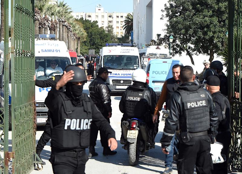 The legislation comes after a gunman massacred 38 tourists on a beach in an attack claimed by Islamic State group (IS) on June 26 and a March attack on the Bardo museum in Tunis, pictured, also claimed by IS that left 21 tourists dead (AFP Photo/Fethi Belaid)