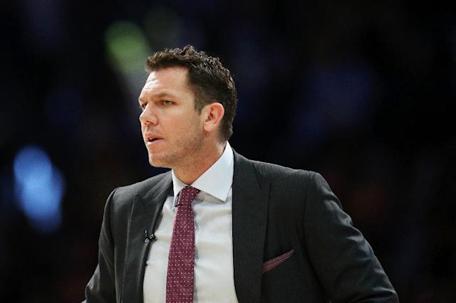 Luke Walton faces a joint investigation by the Sacramento Kings and NBA over allegations he sexually assaulted a female reporter in 2014 (AFP Photo/Yong Teck Lim)