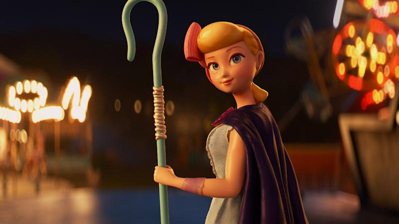 Annie Potts returned as a very different take on Bo Peep in 'Toy Story 4'. (Credit: Disney)